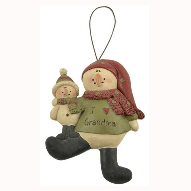 I Love Grandma Christmas Ornament.