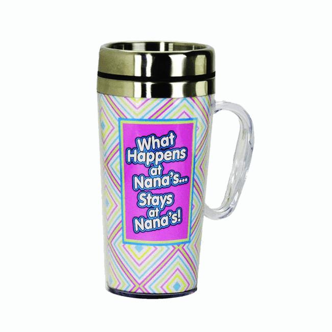 What Happens at Nana's...Stays at Nana's Insulated Travel Mug