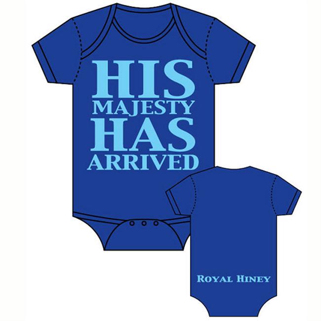 Onesie, His Majesty