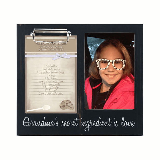 Cute and practical message frame for a special grandmother.