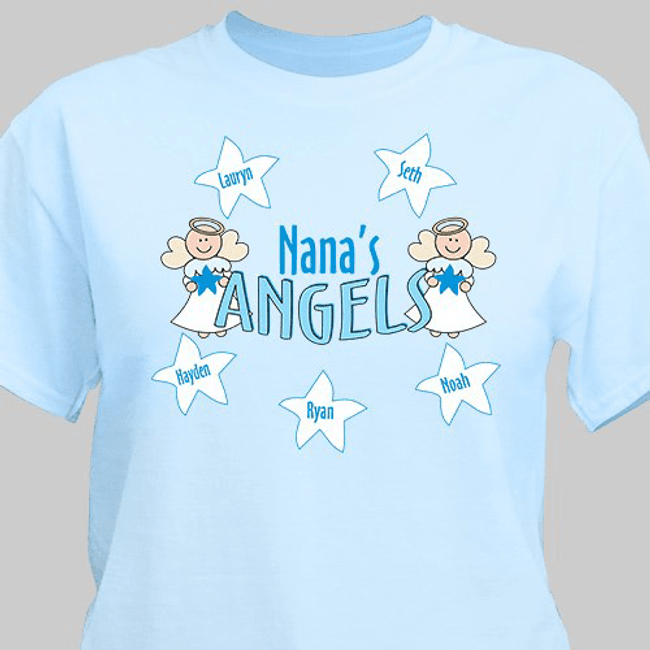 Grandma's angels t-shirt.