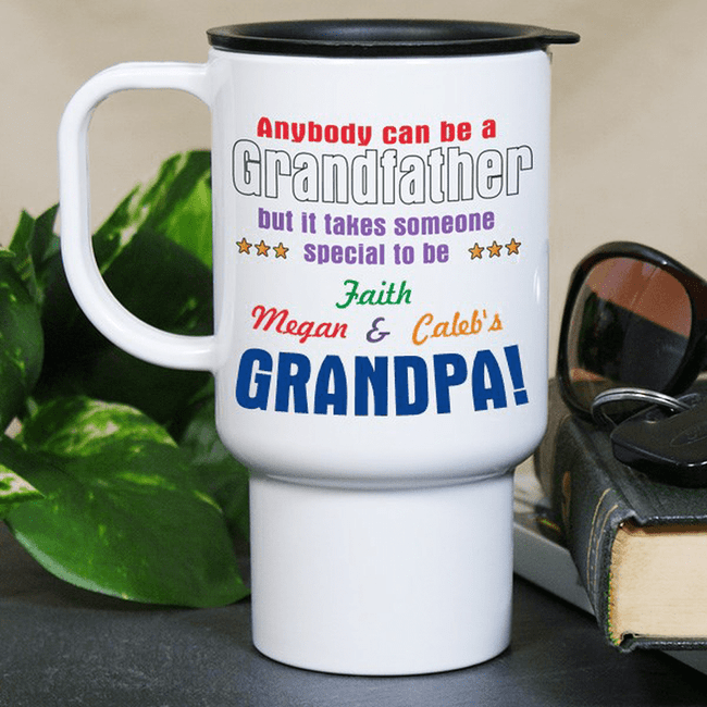 Travel mug for a special Grandpa.