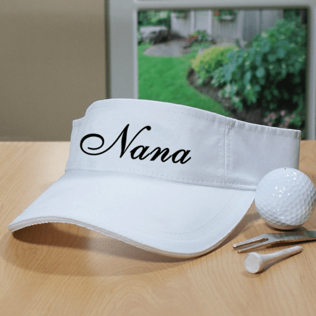 Personalized Visor for a special grandma