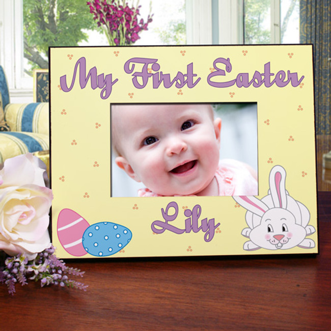 """My First Easter 8 x 10"""" picture frame."""