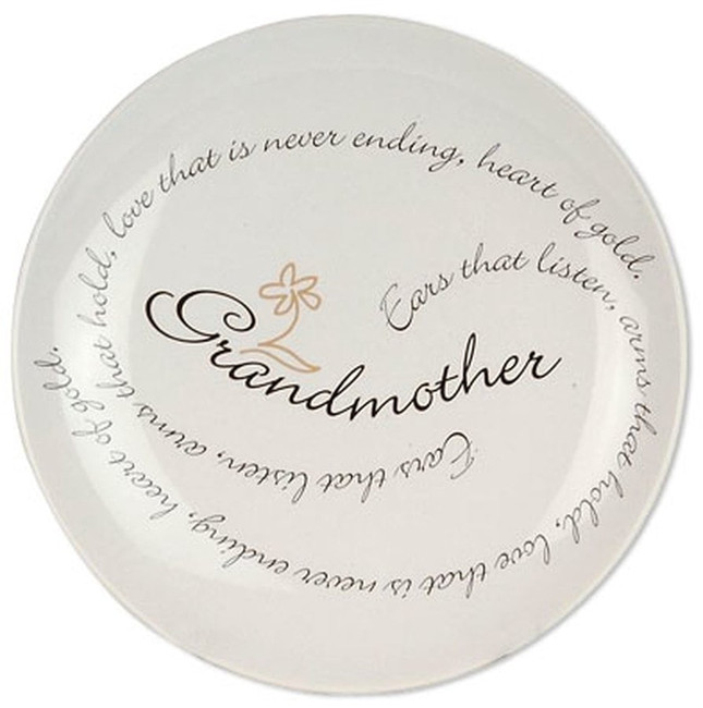 Gift Plate for Grandmother.