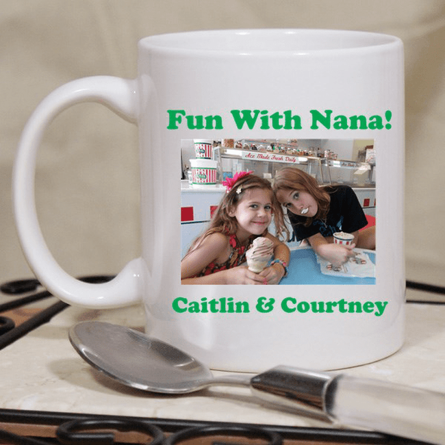 Personalized Photo Cup for Grandma.