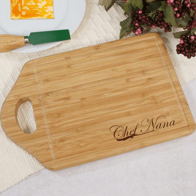 Personalized Carving Board - Chef Grandma!