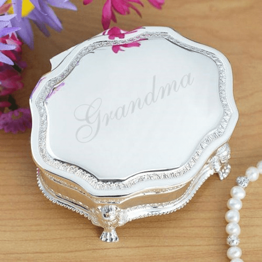Personalized Jewelry Box Just for Grandma