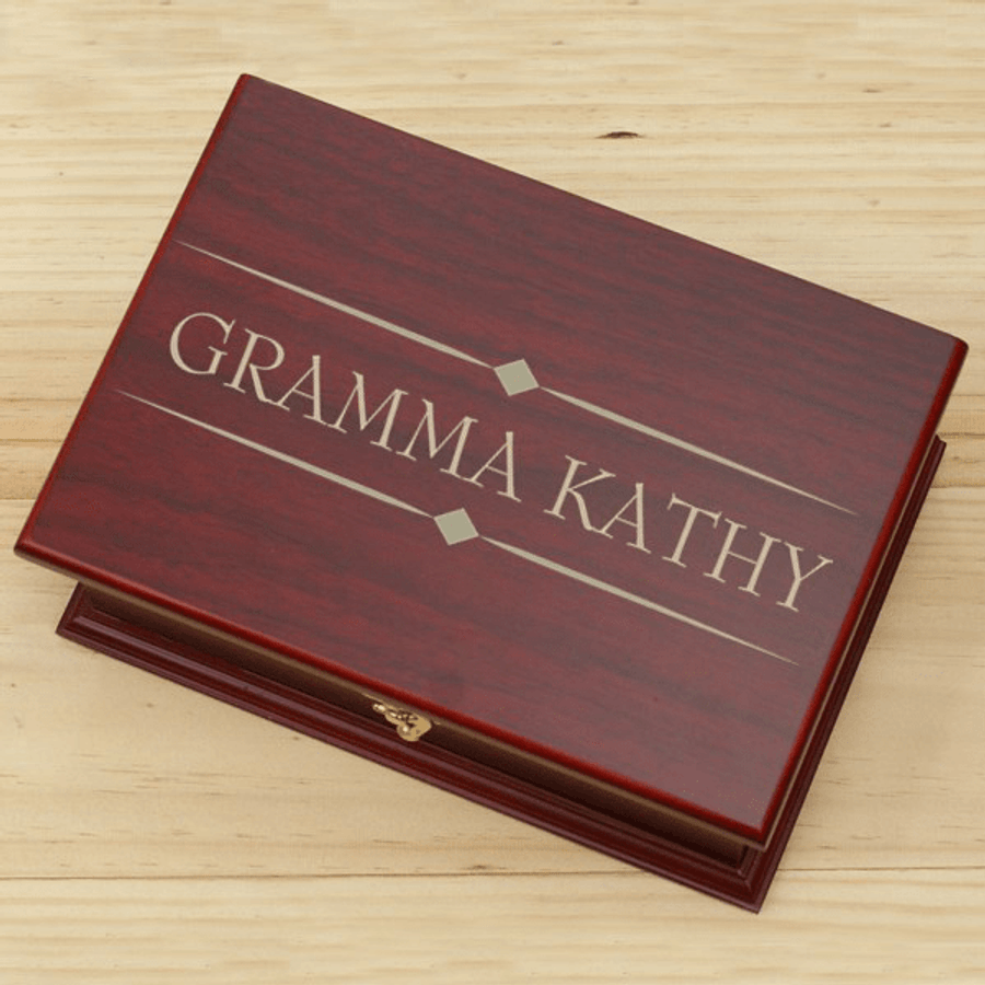 Personalized Tea Box for Grandma