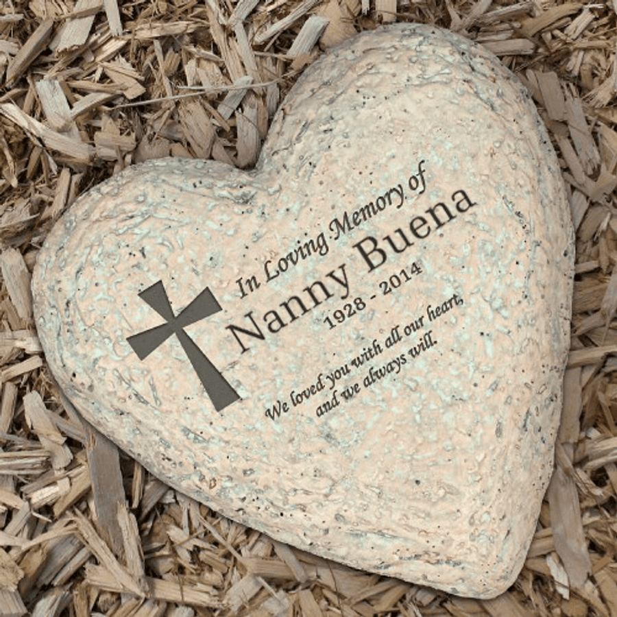 In Loving Memory Of Grandma Personalized Garden Stone The