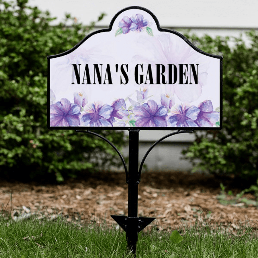 Personalized Garden Sign for Grandma's House