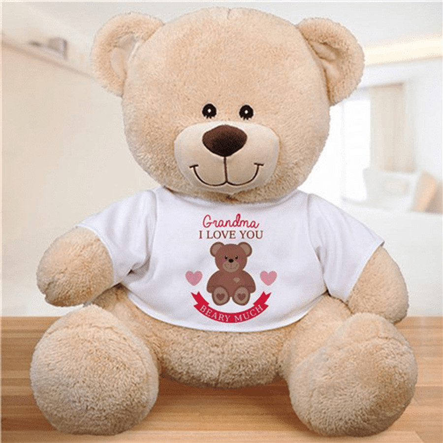 Personalized Teddy Bear for a Beary Loved Grandma