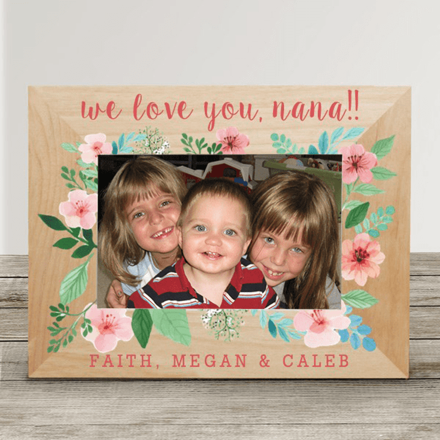 "Personalized ""Special Message"" Frame for Grandma"