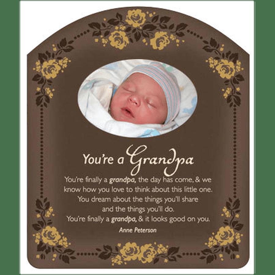Frame for a New Grandpa