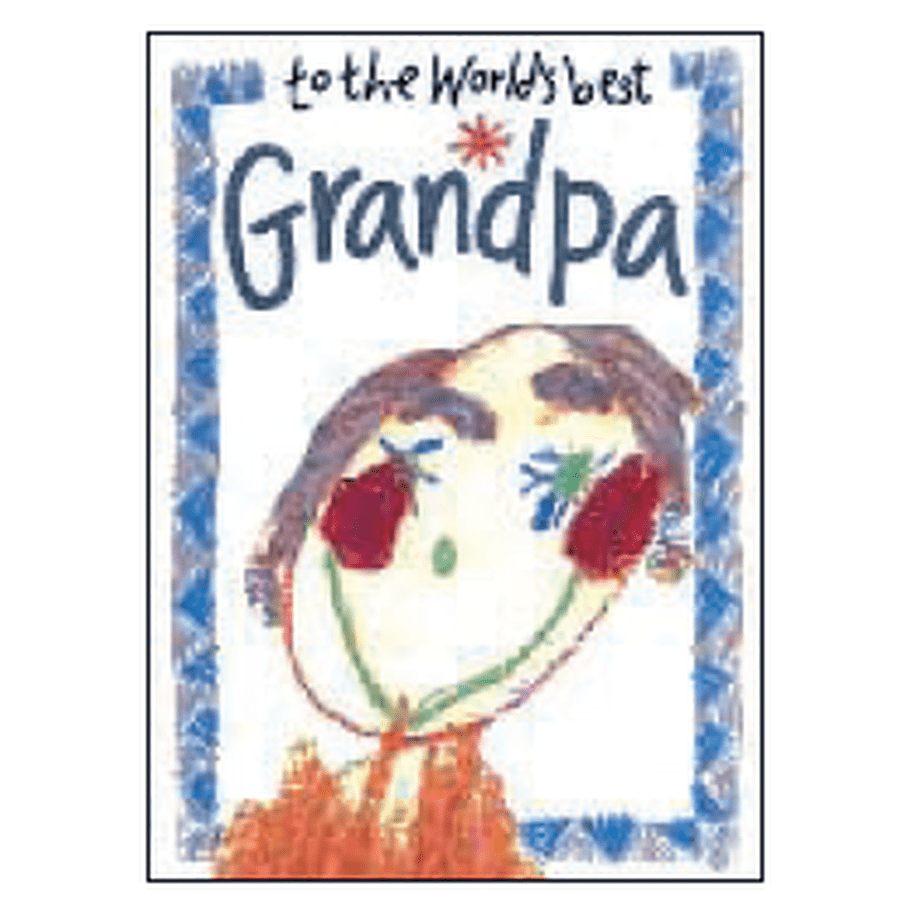 To the world's best Grandpa Book