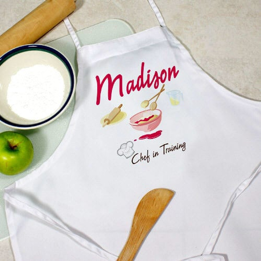 Personalized Child's Apron - Chef in Training