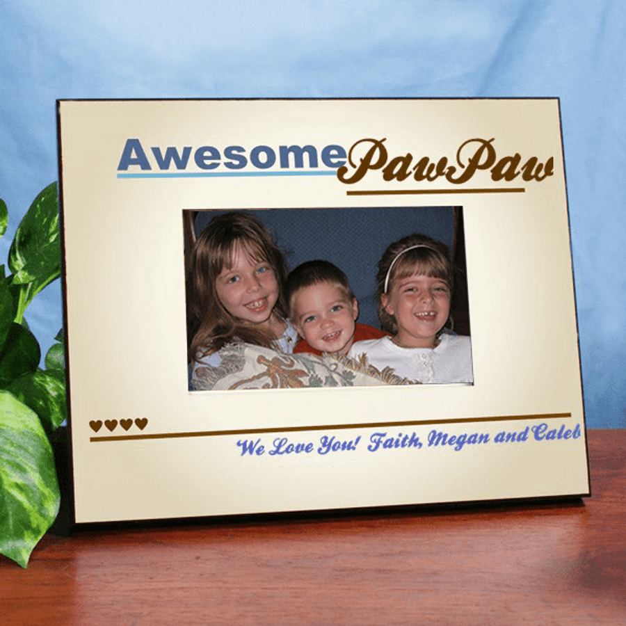 Personalized Frame for Awesome Grandpa!