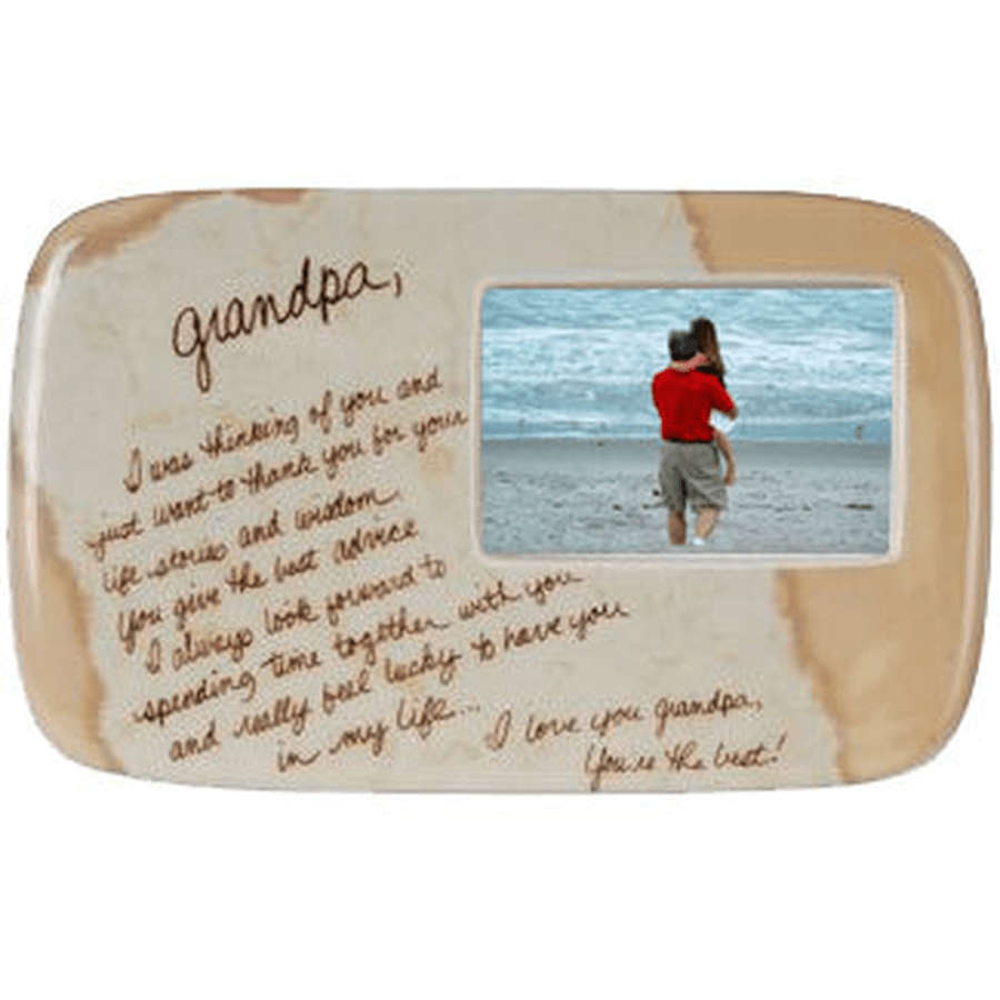 Life's Letters frame for a special grandpa.