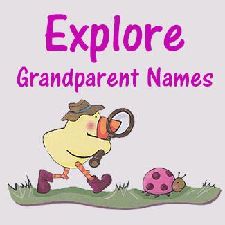 Unique Grandma Names And Grandpa Names