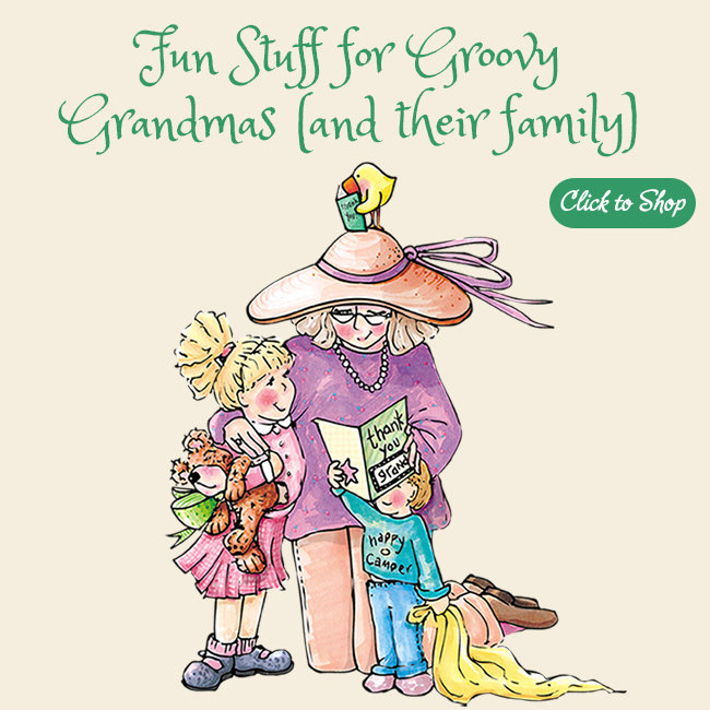 Shop for Fun Stuff for Groovy Grandmas and their family...at The BananaNana Shoppe!
