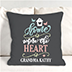 Personalized Throw Pillow for Grandma's Home