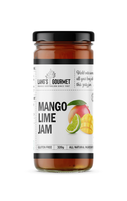 MANGO LIME JAM  320G