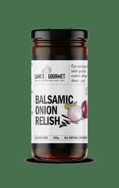 BALSAMIC ONION RELISH 320g