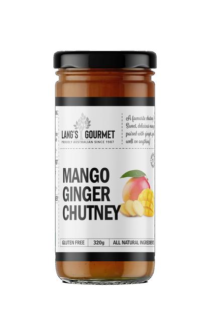 MANGO GINGER CHUTNEY 320g