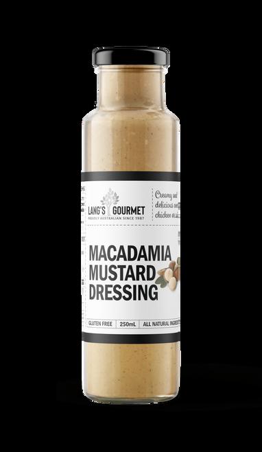 MACADAMIA MUSTARD DRESSING 250ml