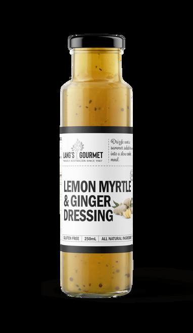 LEMON MYRTLE & GINGER DRESSING 250ml