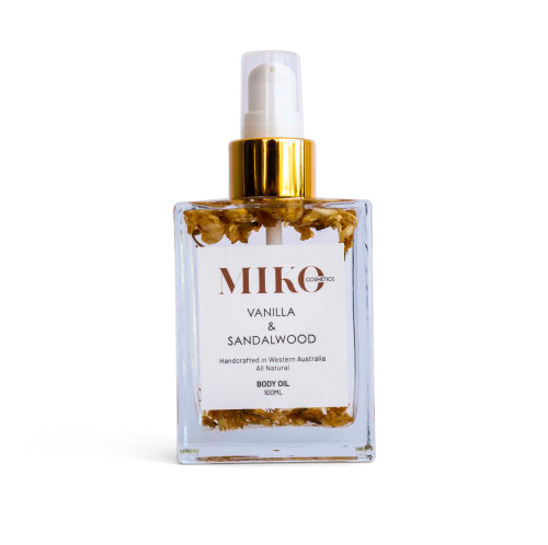 Sandalwood and Vanilla body oil 100ml