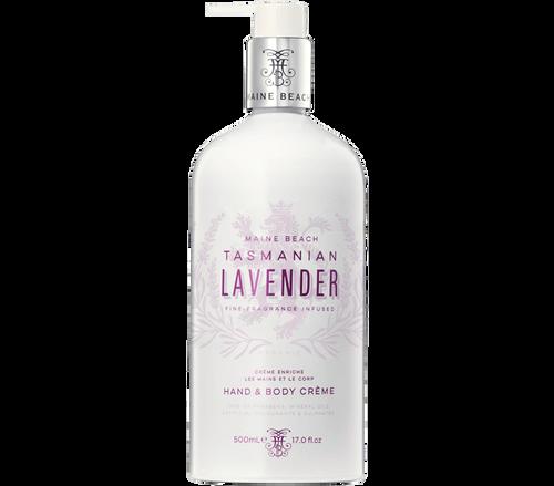 Hand and Body Cream 500ml Tasmania Lavender