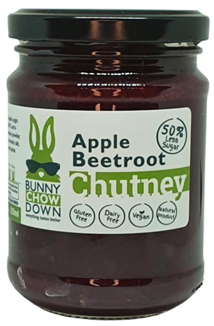 Beetroot Apple Chutney 50% Less Sugar 250ml