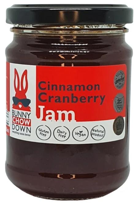 Cranberry Cinnamon Jam 250ml