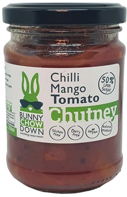 Tomato Chilli Mango Chutney 50% Less Sugar  250ml
