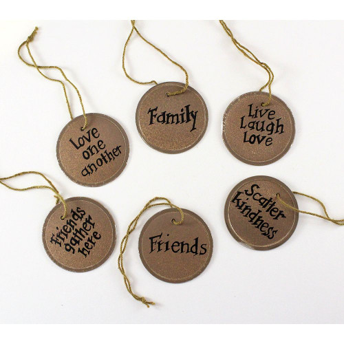 Pre-printed Key Tags Family Friends Country Primitive Home Decorating
