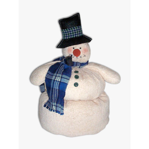 Country Primitive Snowman Doll Pattern Winter Christmas Sewing Crafts
