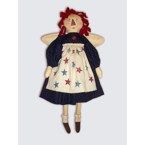 Americana Raggedy Ann Angel Doll PDF E-Pattern