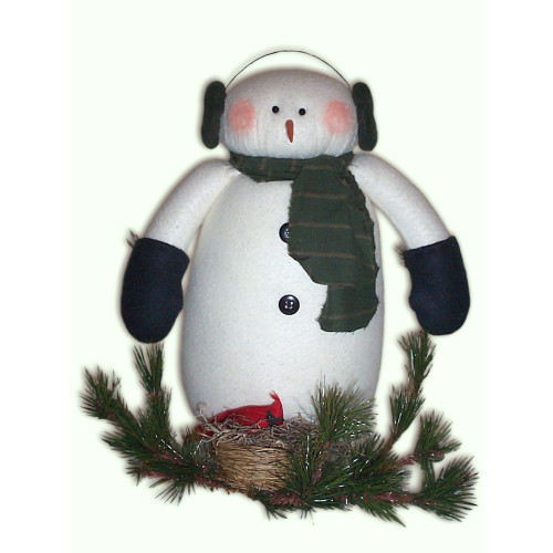 Woodland Snowman Doll E-Pattern Country Sewing Christmas Crafting