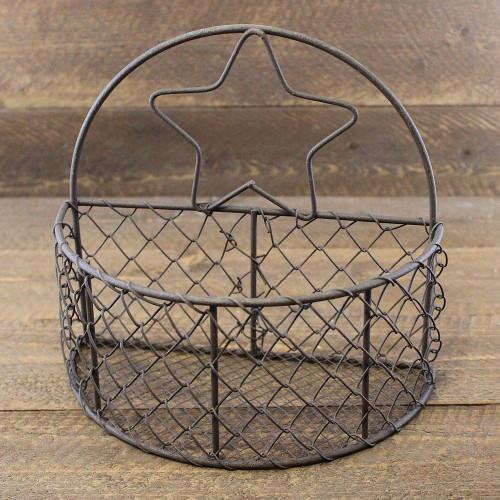 Primitive Star Wire Half Basket