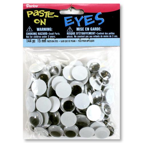 15mm Glue-On Wiggle Eyes
