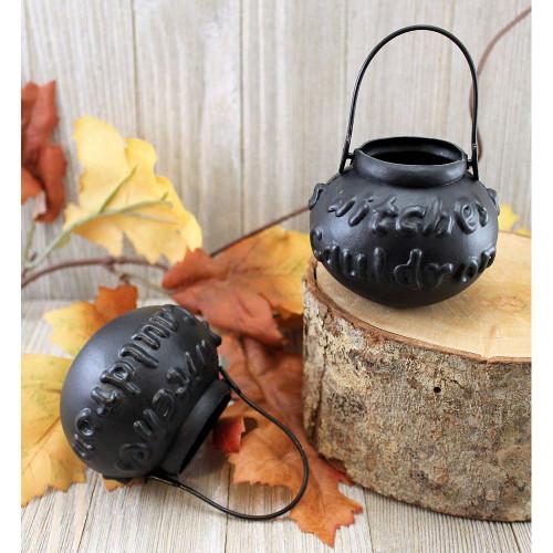 Miniature Plastic Witch Cauldrons
