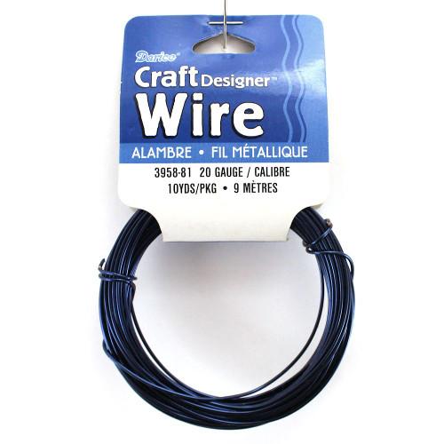 20 Gauge Dark Blue Craft Jewelry Wire