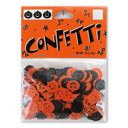 Halloween Decor Jack-O-Lantern Pumpkin Confetti