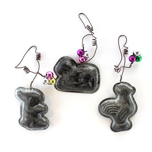Spring Time Mini Mold Ornaments