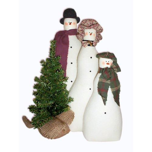 Snow Family Portrait Pattern