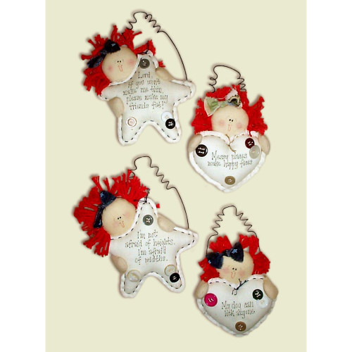 Heartstrings E-Pattern Raggedy Ann Dolls Sayings