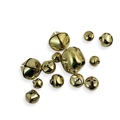 Gold Jingle Bells Assorted Sizes