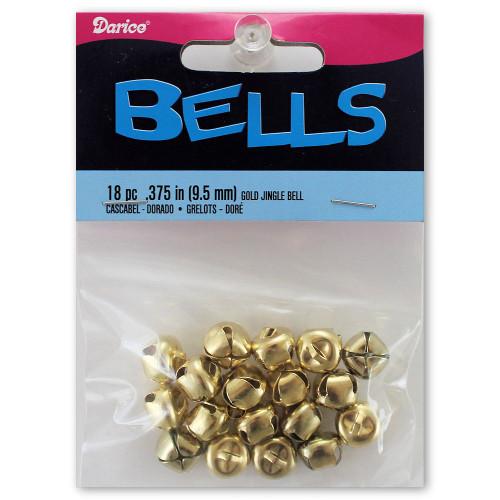 9mm Gold Jingle Bells