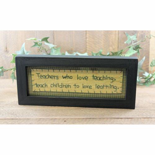 Teachers Children Love Learning Stitchery